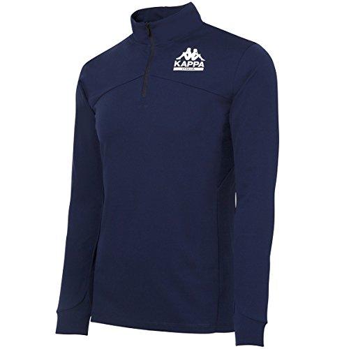 [カッパゴルフ] ゴルフ ハーフジップシャツ Azzurro メンズ ゴルフ ハーフジップシャツ アズーロ メンズ KG752LS52