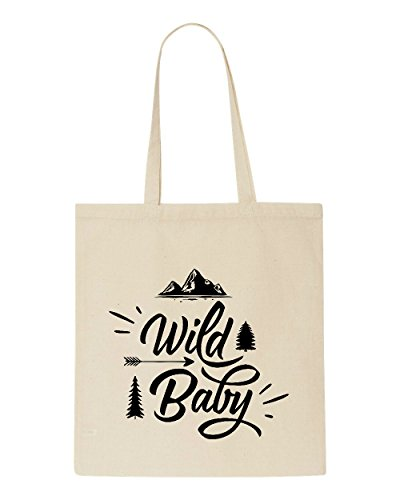 Shopper Wild Baby Tote Statement Bag Beige Adventure wxq4q7BzX