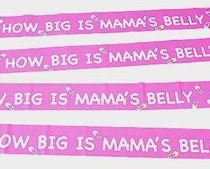 How Big is Mama's Belly ~ Baby Shower Game ()