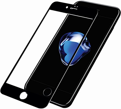 PanzerGlass 2,5D display vetro di protezione (Case friendly); adatto per Apple Iphone 7 Plus, nero