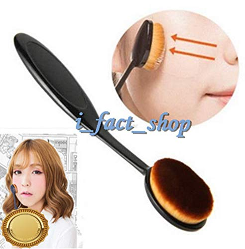 (Gatton Bendable Make Up Brush Blusher Foundation Brush Pro Cosmetic Toothbrush Shape IF | Style MKPBRUSH-21181320)
