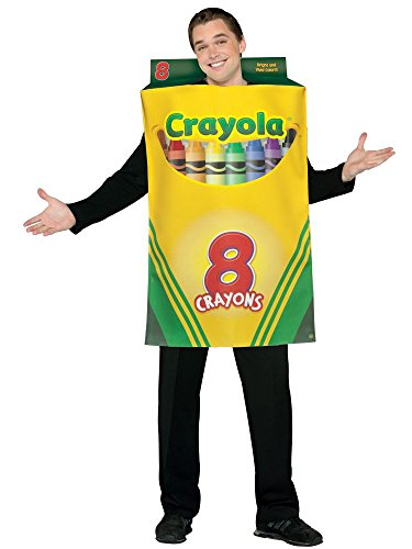 Crayola Crayon Box Costume - One Size - Chest Size 48-52