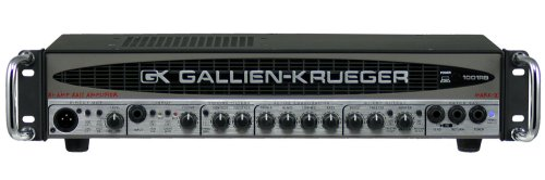 700 Bass Amp Head (Gallien-Krueger 1001 RB-II Bi-Amp Bass Amplifier)