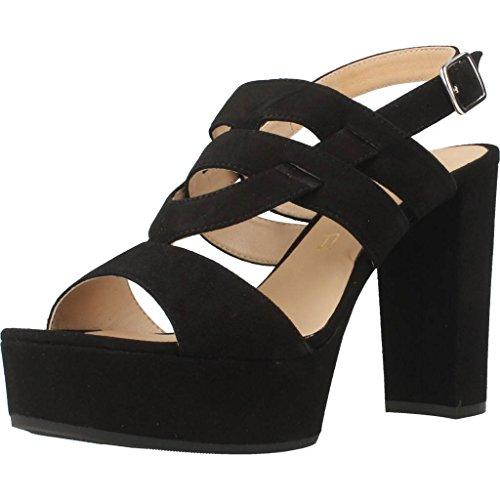 Sandalias de vestir para mujer, color Negro , marca UNISA, modelo Sandalias De Vestir Para Mujer UNISA VAMPI KS Negro Negro