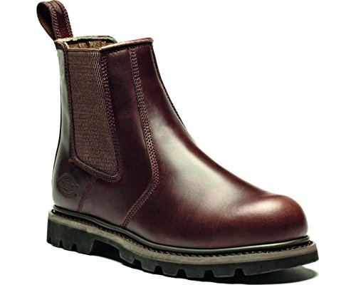 Dickies fd9214 a-br-10 Fife II Dealer Boot, taglia 10, marrone