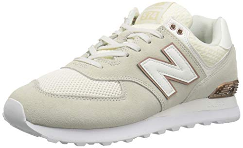 Balance 574v2 Sneaker metallic New Donna Natural T1wC1qz