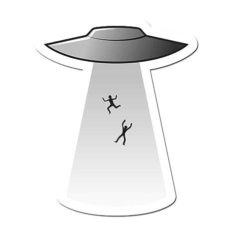 Amazon.com: Pegatinas de brillo oscuro UFO para platillo ...