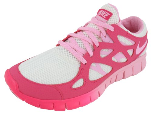 Nike Damen W Free Run +2 Ext sail-ion pink-pink force