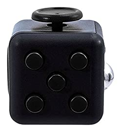 Oliasports Fidget Cube Relieves Stress & Anxiety, Black