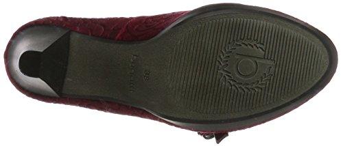 Rojo Red de Dark Mujer Tacón Zapatos 412281746000 Bugatti aXTwHH