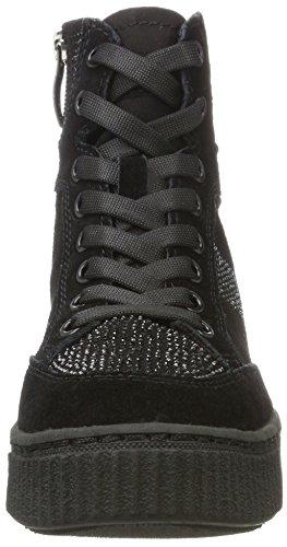 Hautes Baskets 25234 Noir Femme Black Tamaris EA6aqR