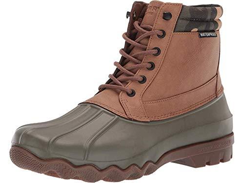 SPERRY Men's Brewster Boot Tan/Camo 9 M US