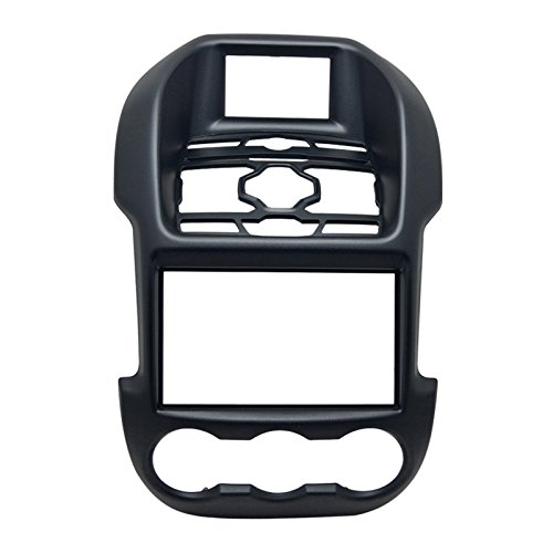 FEELDO Car 2DIN Refitting Audio DVD Panel Frame Panel Radio Fascia Frame Kit Face Plate for Ford Ranger (Luxury type)