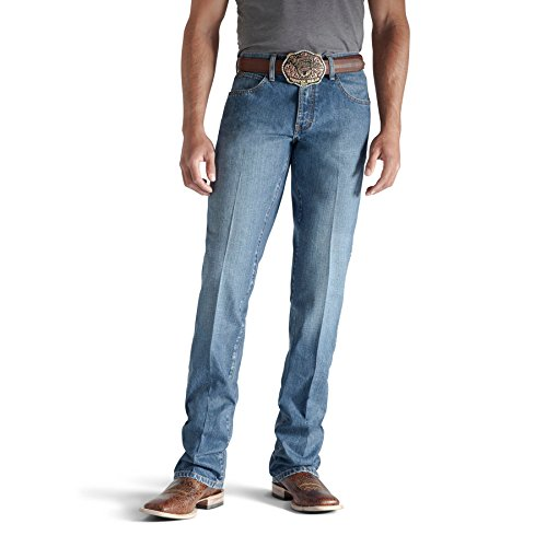 Ariat Men's Heritage Classic Fit Jean, Medium Stone, 36x30
