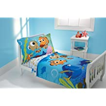 Disney Finding Nemo 4-Piece Toddler Bed Set