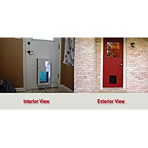 Solo Pet Doors Automatic Electronic Dog and Cat Door 18