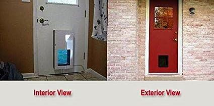 Solo Pet Door Automatic Electronic Dog And Cat Door (10u0026quot;H By 8u0026quot;