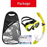 SwimStar Snorkel Set for Women and Men, Anti Fog