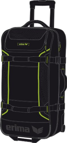 Erima Wheelbag M - black