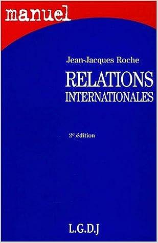 Relations internationales pdf epub