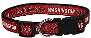 Pets First CAP-3036-LG Washington Capitals Collar, Large