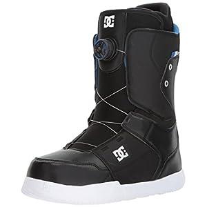 DC Men's Scout Boa Snowboard Boots, Black, 11.5