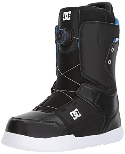 DC Men's Scout Boa Snowboard Boots, Black, 8.5 by DC