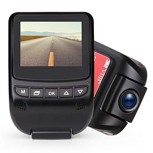 Poaeaon Car Dash Cam, 4K Dashboard Camera Recorder with Full HD 1080P, 6-Lane 170