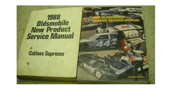 1988 oldsmobile cutlass supreme service manual set 88 service rh amazon com 1987 Cutlass Supreme 1987 Cutlass Supreme