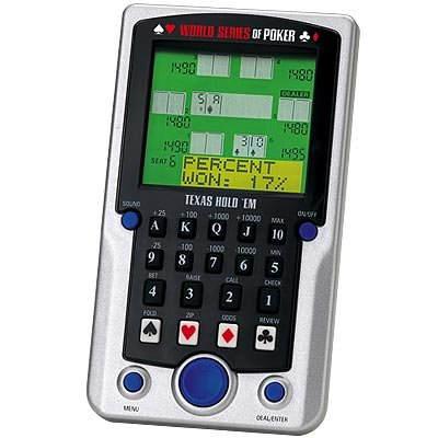 Excalibur Electronic Handheld Game - Excalibur Texas Hold 'Em Poker Deluxe