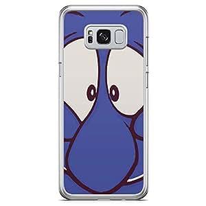 Loud Universe Genie Eyes Aladding Samsung S8 Case Aladdin Classic Cartoon Network Samsung S8 Cover with Transparent Edges
