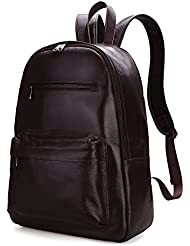 Damero Genuine Leather Backpack Travel Rucksack Daypack School Pack