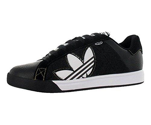 adidas Men's G08927 Bankment Evolution Skateboarding Shoes, Black/White, 9.5 D(M) US