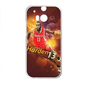 Happy HOUSTON ROCKETS Basketball NBA Phone Case for HTC One M8