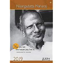 Shri Nisargadatta Maharaj Wall Calendar 2019