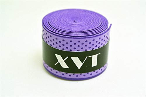 CUSHY XVT eco-Friendly Badon/Table Tennis Handletape Tennis Racket overgrip/Squash Tape/Fishing Rod Tape 5pcs/lot: Purple