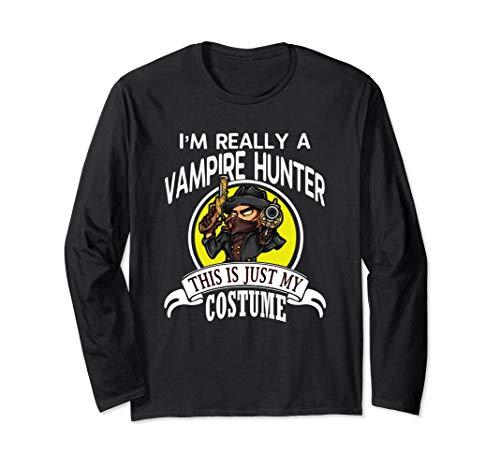 Vampire Hunter Halloween Costume Long Sleeve