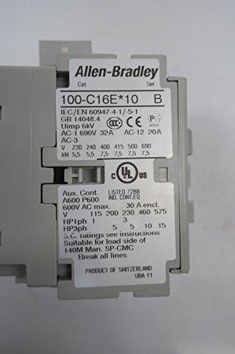 NEW ALLEN BRADLEY 100-C16EJ10 CONTACTOR SER B 30A 24V-DC 10HP D589000 by Allen-Bradley (Image #6)