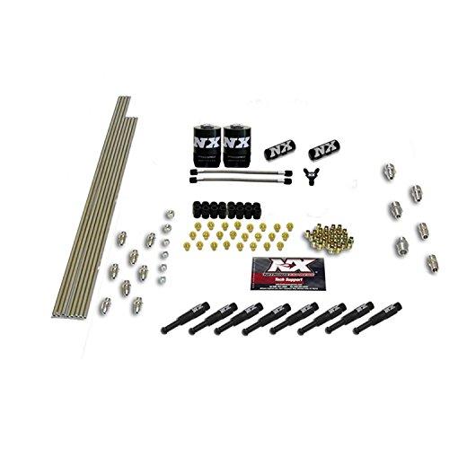 Nitrous Express 8 Cylinder (Nitrous Express 13382 8-Cylinder 1/8 Dry Nozzle Intake Plumbing Kit)