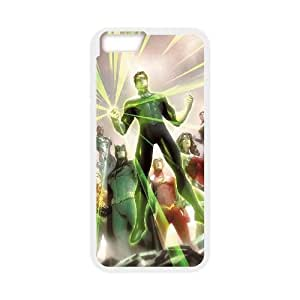 """Hjqi - Customized Justice League Phone Case, Justice League DIY Case for iPhone6 4.7"""""""