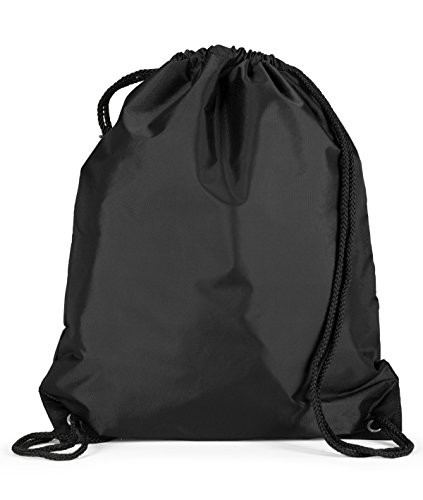 Liberty Bags Large Drawstring Backpack, One Size, (Nylon Accessory Bag)