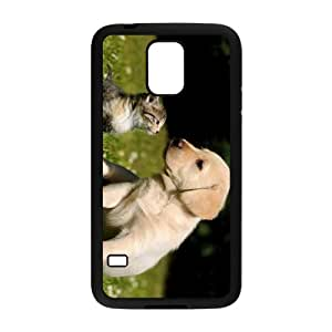 Dog And Cat Hight Quality Plastic Case for Samsung Galaxy S5 by runtopwell