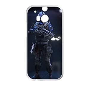 HTC One M8 Cell Phone Case White Assault class killzone shadow fall SU797722