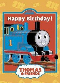 Amazon thomas the train happy birthday card birthday thomas the train happy birthday card bookmarktalkfo Image collections