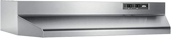 Broan-NuTone 403004 Convertible Range Hood Insert with Light