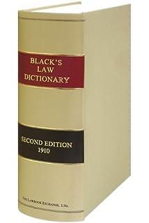 Blacks Law Dictionary 1st Edition Pdf