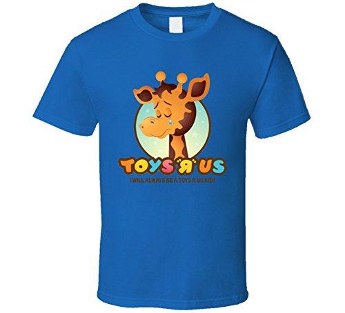 Toys R Us Giraffe Kids Toys Blue T Shirt M Royal Blue