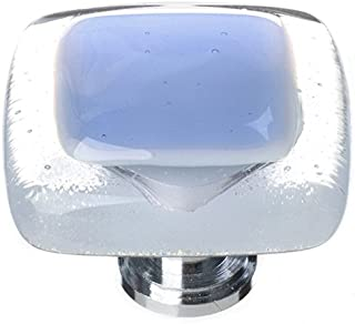 product image for Sietto K-704-PC Reflective 1-1/4 Inch Square Cabinet Knob