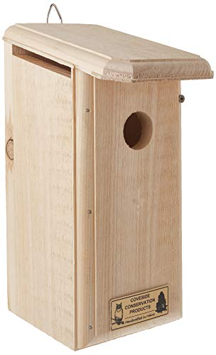 Tree Swallow House (Titmouse/Warbler/Tree Swallow House)