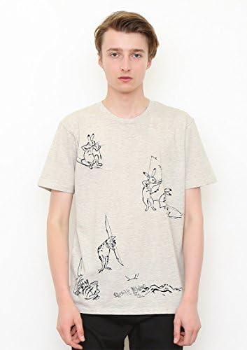 ベーシック Tシャツ/弓矢 (鳥獣戯画) (ヘザー ナチュラル) (g100) (g107)